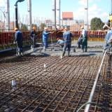 бетонирование днища  бассейна Дворца водных видов спорта в г. Бресте