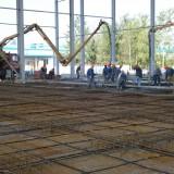 бетонирование предварительно напряженной  фундю плиты на СП Санта Бремор ООО  в г. Бресте